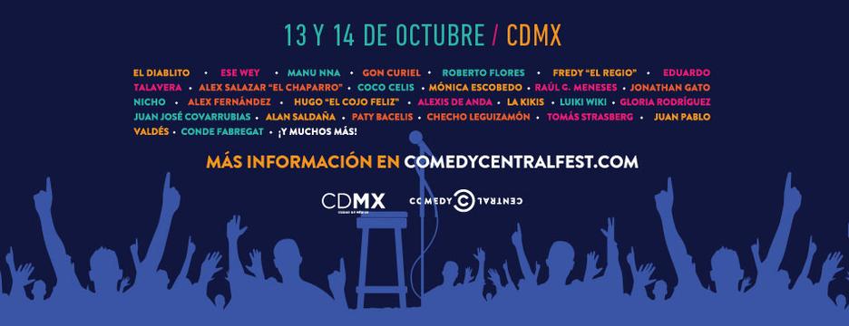 VUELVE COMEDY CENTRAL FEST MÉXICO